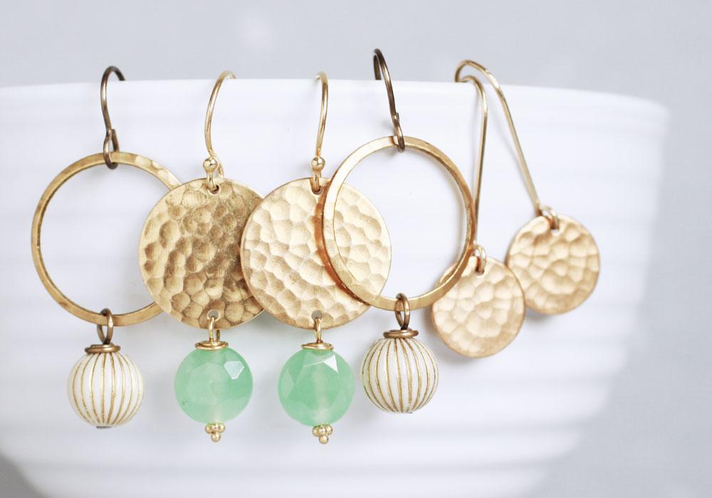 earrings by tellurus